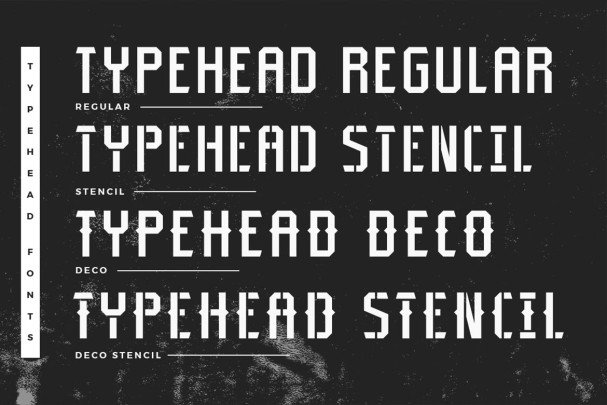 Download Typehead font (typeface)