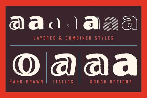 Download Oilvare Font Family font (typeface)