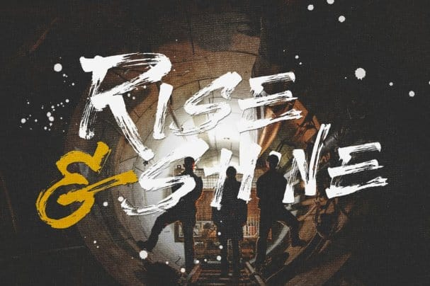 Download Rise & shine font (typeface)
