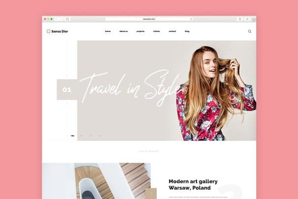 Download Sansa Dior font (typeface)