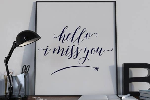 Download Mallicot Script font (typeface)