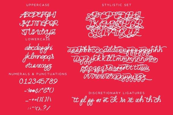 Download Artzopo Font font (typeface)