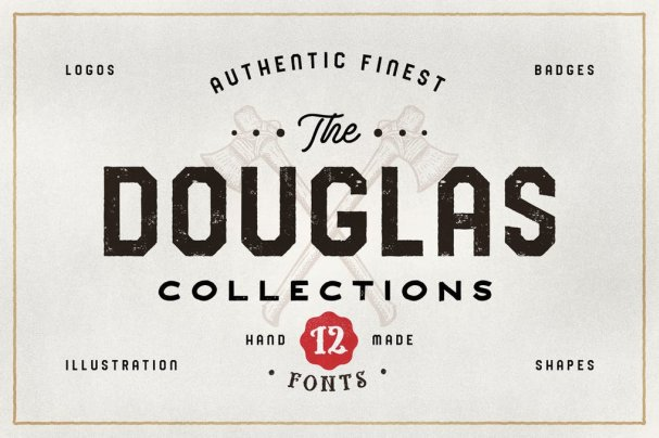 Download The Douglas Collections font (typeface)
