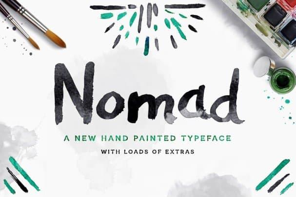 Download Nomad Font font (typeface)