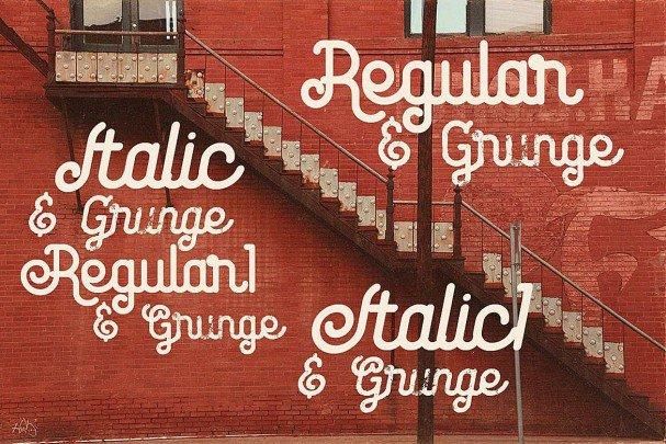 Download Nomura - Vintage Style font (typeface)