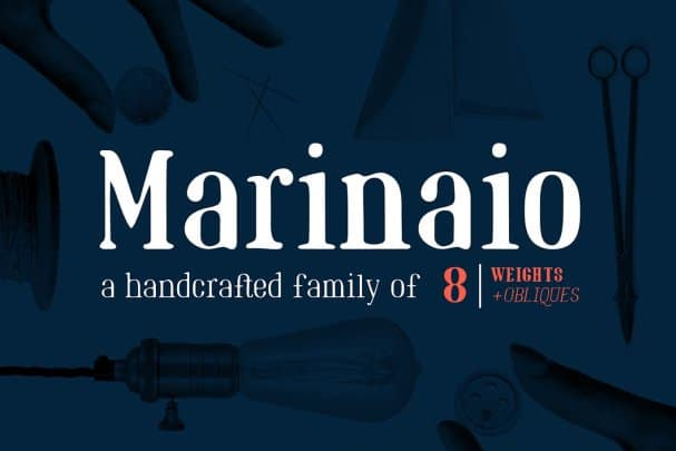 Download Marinaio Family font (typeface)