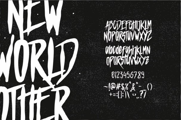 Download Mars Attack Typeface font (typeface)