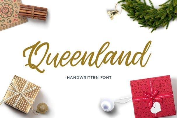 Download Queenland font (typeface)