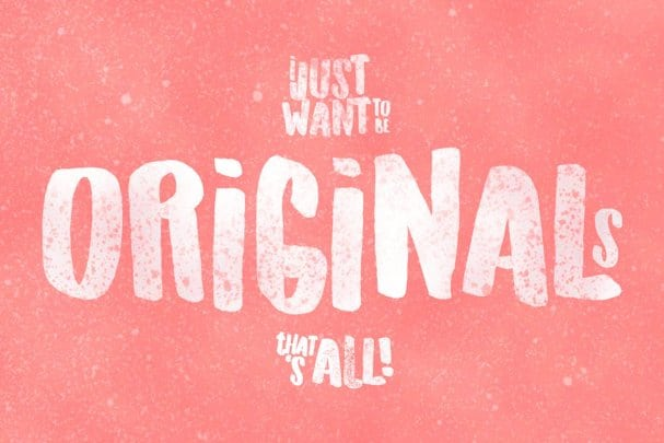 Download Originals Typeface font (typeface)