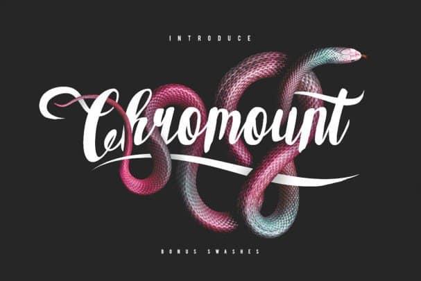 Download Chromount Typeface font (typeface)