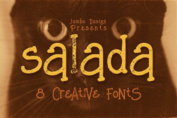 Download Salada - Funny Style Font font (typeface)