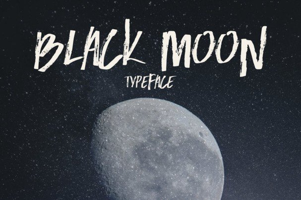 Download Black Moon font (typeface)