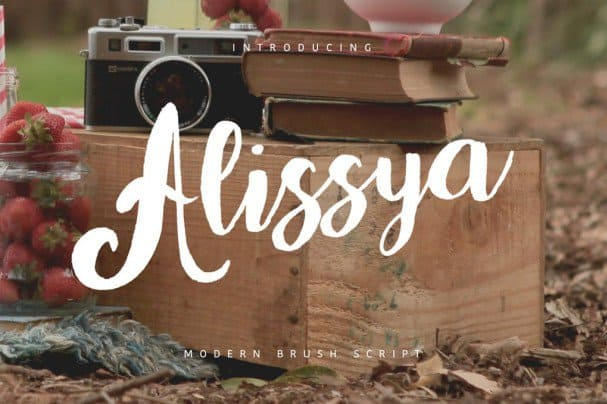 Download Alissya Typeface font (typeface)