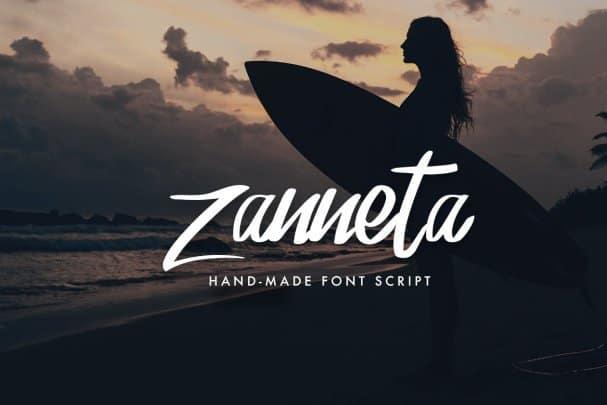 Kudeta - Handmade Font Script