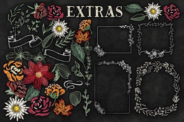 Download Bride Chalk Typeface font (typeface)