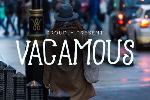 Download Vacamous Typeface font (typeface)