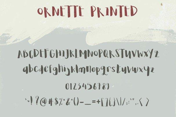 Download Ornette font (typeface)
