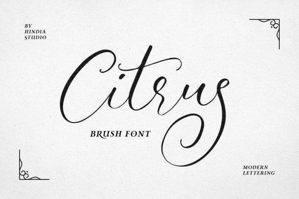 Download Citrus font (typeface)
