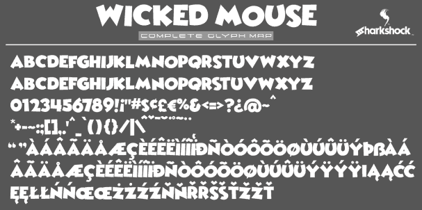 Download Wicked Mouse font (typeface)
