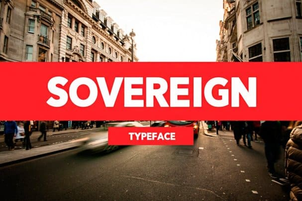 Download Sovereign Typeface font (typeface)