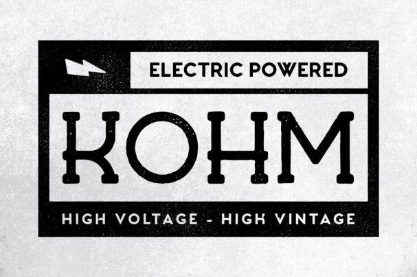Download Kohm - Vintage Font font (typeface)