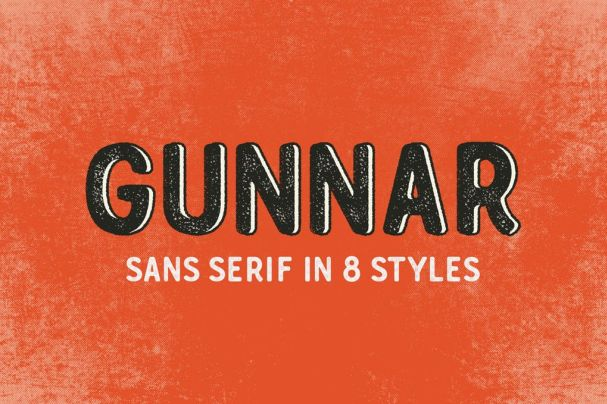 Download Gunnar font (typeface)