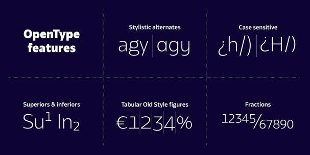 Download Bw Glenn Sans family font (typeface)