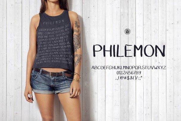 Download Philemon font (typeface)