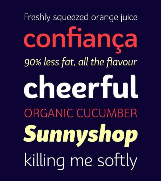 Download Bw Surco family font (typeface)