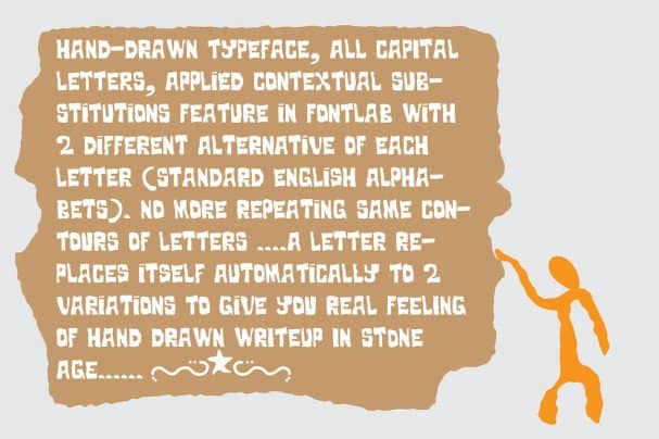 Download Stoneage font (typeface)