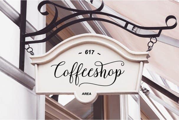 Download Morenthya Script font (typeface)