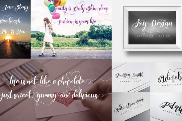 Download Chocolate Heart font (typeface)