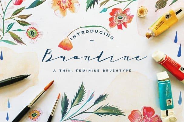 Download Brandine font (typeface)
