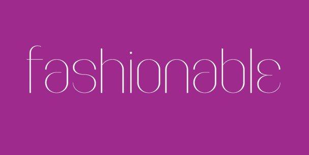 Download Faddish font (typeface)