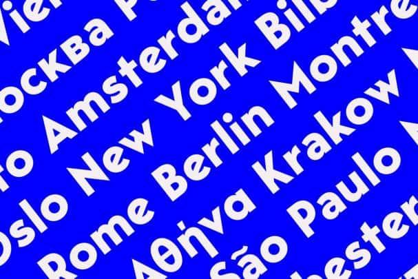 Download Bergen Sans font (typeface)