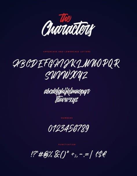 Download Adevale script font (typeface)