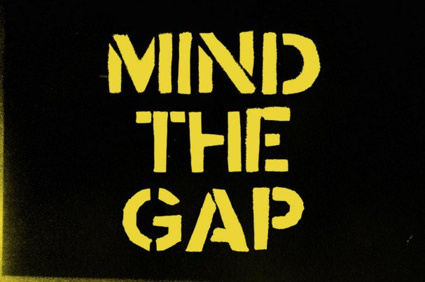 Download Mind the Gap font (typeface)
