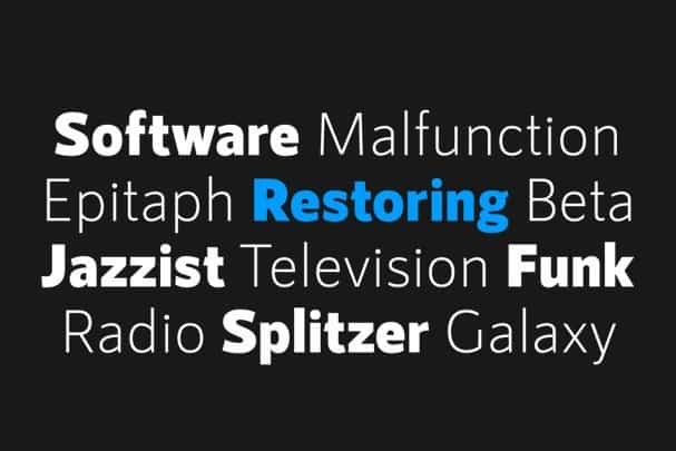 Download RNS Sanz font (typeface)