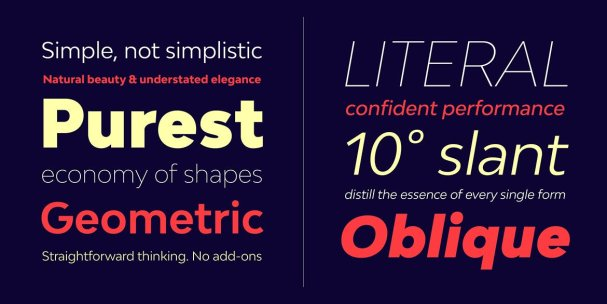 Download Bw Modelica Family font (typeface)
