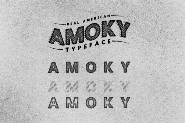 Download Amoky Typeface font (typeface)