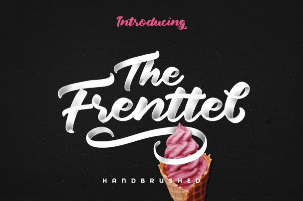 Download The Frenttel font (typeface)