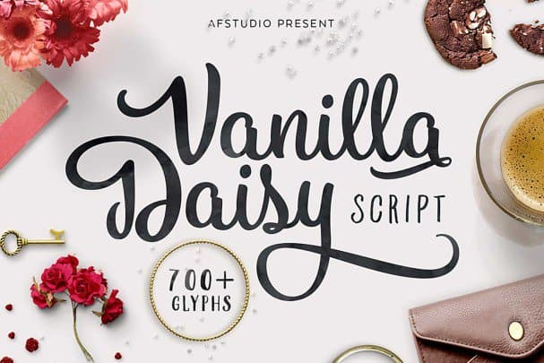 Download Vanilla Daisy font (typeface)