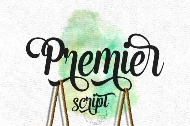 Download Premier Script font (typeface)