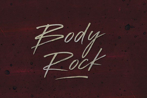 Download Body Rock font (typeface)
