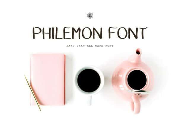 Download Philemon Font font (typeface)