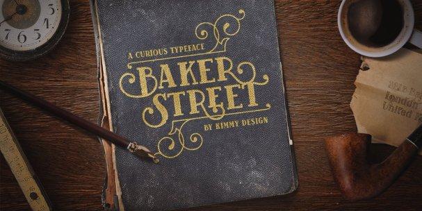Download Baker Street Ornaments font (typeface)