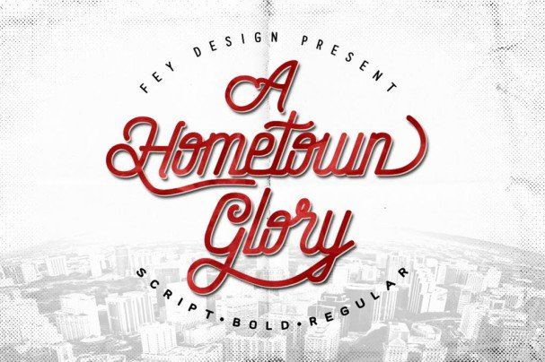 Download Hometown font (typeface)