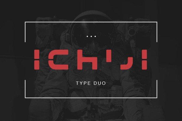 Download Ichiji Type font (typeface)