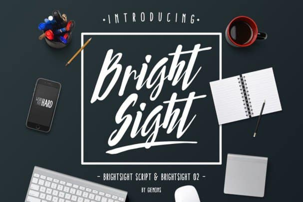 Download Bright Sight font (typeface)