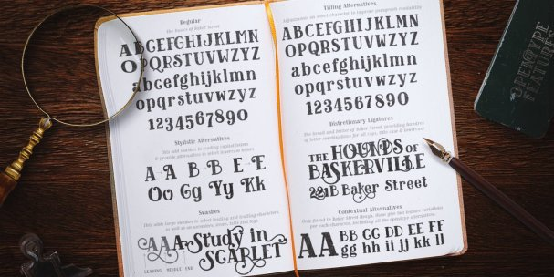 Download Baker Street Rough font (typeface)